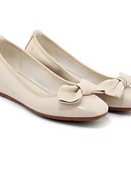 economico -Per donna Scarpe Vernice Primavera Comoda Ballerine Piatto Grigio chiaro / Rosa / Tessuto almond