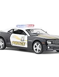 abordables -Petites Voiture Voiture de Police Automatique Design nouveau Alliage de métal Enfant Adolescent Tous Garçon Fille Jouet Cadeau 1 pcs