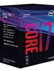 Недорогие -Intel Процессор центрального процессора Core i7 i7-8700 6 Сердечники 12 3.2