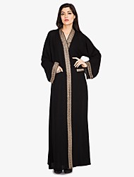 cheap -BENEVOGA Women's Boho / Street chic Abaya - Solid Colored / Creative / Bohemian, Oversized / Patchwork