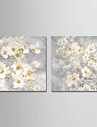 Недорогие -С картинкой Отпечатки на холсте - Природа Цветочные мотивы / ботанический Modern Репродукции