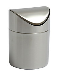 cheap -Kitchen Organization Trash Bag & Can Stainless Steel Easy to Use 1pc