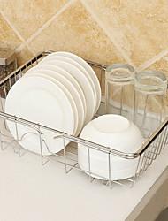 economico -Organizzazione della cucina Scaffali e porta-oggetti Acciaio inossidabile Facile da usare 1pc