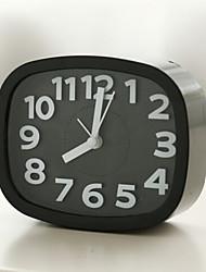 Недорогие -часы настольные часы современный / современный пластик / пластик&металл нерегулярный