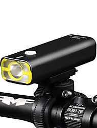cheap -Front Bike Light / Headlight LED Bike Light XP-G2 Cycling Waterproof, Rechargeable, Dimmable 18650 400 lm Built-in Li-Battery Powered Camping / Hiking / Caving / Everyday Use / Cycling / Bike - Wheel