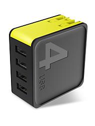Недорогие -Зарядное устройство USB ROCK 4 Настольная зарядная станция обожаемый Евро стандарт / Стандарт Австралии Адаптер зарядки