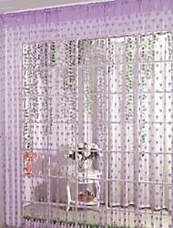 baratos -Porta Painel Cortinas cortinas Sala de Estar Geométrica Algodão / Poliéster Impressão Reactiva
