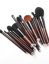 economico -19pcs Pennelli per il trucco Professionale Cura della pelle Lana / Fibra Coppa larga Legno / bambù