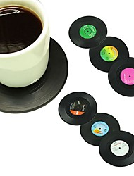 Недорогие -Drinkware Пластик Каждодневные чашки / стаканы Теплоизолированные 6 pcs