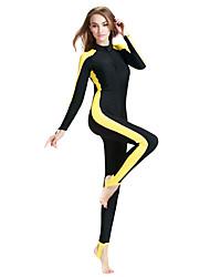 abordables -SBART Femme Combinaison Fine SPF50, Protection UV contre le soleil, Séchage rapide Tactel Coque Intégrale Maillots de Bain Tenues de plage Combinaisons Natation / Plongée / Snorkeling