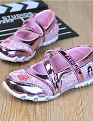 Недорогие -Девочки Обувь Синтетика Весна & осень Удобная обувь На плокой подошве На липучках для Дети Пурпурный / Синий / Розовый