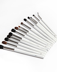 cheap -14pcs Makeup Brushes Professional Makeup Brush Set / Make Up / Skin Care Wool / Fiber Professional / Full Coverage Wooden / Bamboo