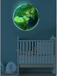 Недорогие -Наклейки для выключателя света - Простые наклейки / Светящиеся наклейки Halloween / Праздник Гостиная / В помещении