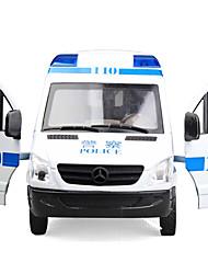 Недорогие -Игрушечные машинки Полицейская машинка / Машина скорой помощи Транспорт Вид на город / Cool / утонченный Металл Все Для подростков Подарок 1 pcs