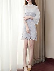 cheap -Women's Basic A Line Dress Stand