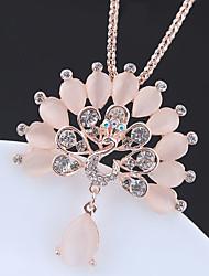 preiswerte -Damen Lang Anhängerketten / Lange Halskette - Pfau Europäisch, Modisch Gold 70 cm Modische Halsketten 1pc Für Normal