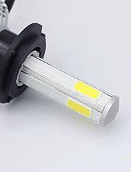 cheap -SO.K 2pcs 9003 / H7 / H4 Car Light Bulbs 30 W Integrated LED / COB / High Performance LED 8000 lm 2 LED Headlamp All years