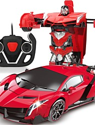 Недорогие -Машинка на радиоуправлении 606 10.2 CM 2.4G Автомобиль / Гоночный автомобиль 1:18