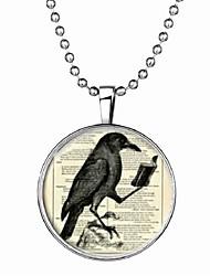 cheap -Men's Luminous Stone Long Pendant Necklace - Bird Cartoon, Fashion Blue 60 cm Necklace 1pc For Halloween, Club