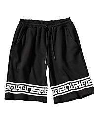 cheap -Men's Cotton / Linen Shorts Pants - Solid Colored