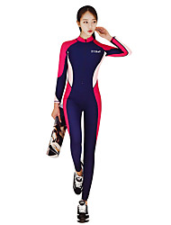 cheap -Women's Dive Skin Suit SPF30, UV Sun Protection, Quick Dry Polyester / Nylon / Spandex Full Body Swimwear Beach Wear Diving Suit Surfing / Snorkeling / Dive / Stretchy