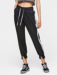 abordables -Mujer Básico Algodón Pantalones de Deporte Pantalones - Un Color / Primavera / Verano