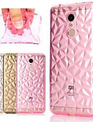 Недорогие -Кейс для Назначение Xiaomi Redmi Note 5 Pro / Mi 8 Прозрачный Кейс на заднюю панель Однотонный / Геометрический рисунок Мягкий ТПУ для Redmi Note 5A / Xiaomi Redmi Note 5 Pro / Xiaomi Redmi 5