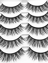 cheap -lash False Eyelashes Professional / Pro / Thickening Makeup 1 pcs Eye High Quality / Fashion Event / Party / Daily Wear Daily Makeup / Halloween Makeup / Party Makeup Natural Curly Professional