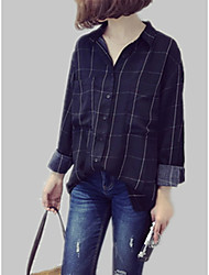 cheap -Women's Vintage Shirt - Check