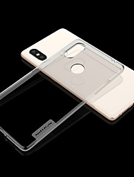 abordables -Nillkin Coque Pour Xiaomi Mi 8 / Mi 8 SE Ultrafine / Transparente Coque Couleur Pleine Flexible TPU pour Xiaomi Redmi Note 5 Pro / Xiaomi Mi Mix 2S / Xiaomi Mi 8
