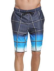 abordables -SBART Hombre Pantalones de Natación Impermeable, Secado rápido, Listo para vestir Poliéster / Licra Bañadores Ropa de playa Pantalones de Surf Impresiones Reactivas Surfing / Playa / Deportes de Agua