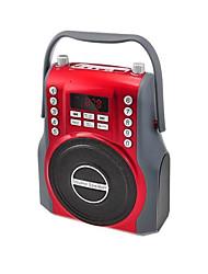 baratos -T2035 Speaker Bluetooth 4.1 micro USB Altofalante para Ambientes Exteriores Prata / Vermelho / Azul