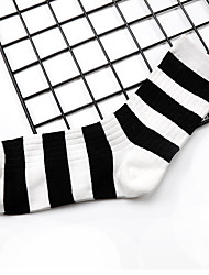 cheap -Women's Socks Striped Sports Cotton EU36-EU42