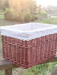 abordables -Cesto de la ropa / Caja de Almacenamiento El plastico Ordinario Bolsa de Viaje 1 Caja de Almacenamiento Bolsas de almacenamiento para el hogar