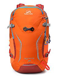 abordables -35 L Mochilas - Resistente a la lluvia, Listo para vestir, Transpirabilidad Al aire libre Senderismo, Camping, Viaje Naranja, Verde, Azul