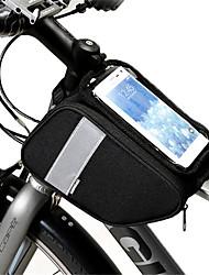 abordables -Sac de téléphone portable / Sac de cadre de vélo 6 pouce Ecran tactile, Bandes Réfléchissantes Cyclisme pour Cyclisme / Tous Téléphone Portable Noir / 600D Polyester