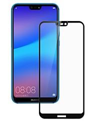 abordables -Protector de pantalla para Huawei Huawei P20 Vidrio Templado 1 pieza Protector de Pantalla Frontal Alta definición (HD) / Dureza 9H / A prueba de explosión