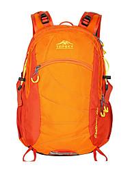 Недорогие -28 L Рюкзаки - Легкость, Дожденепроницаемый, Воздухопроницаемость На открытом воздухе Пешеходный туризм, Походы, Путешествия Оранжевый, Лиловый