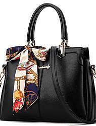 cheap -Women's Bags PU(Polyurethane) Shoulder Bag Buttons / Solid Dark Blue / Gray / Light Purple