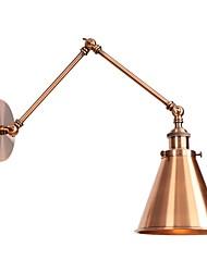 Недорогие -Антибликовая / Творчество LED / Ретро Подголовники Гостиная / кафе Металл настенный светильник 110-120Вольт / 220-240Вольт 4 W