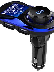 cheap -Bluetooth Car Kit Handsfree Wireless FM Transmitter Car MP3 Player with 1.4 inch Large LCD Screen Support TF Card/U Disk