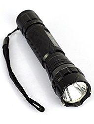 cheap -LED Flashlights / Torch LED 2000 lm 1 Mode Portable / Professional / Anti-Shock Camping / Hiking / Caving / Everyday Use / Cycling / Bike Black