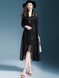 abordables -Mujer Básico Conjunto - Un Color Vestidos