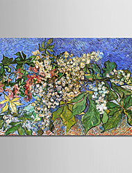 cheap -Oil Painting Hand Painted - Famous / Landscape Modern Canvas