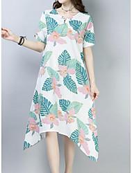 cheap -Women's Going out A Line Dress - Geometric