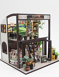 cheap -Dollhouse Hand-made / Parent-Child Interaction Cafe Pieces Teenager Gift