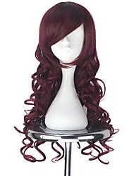 preiswerte -Cosplay Perücken Vocaloid Megurine Luka Anime Cosplay Perücken 190.5 cm CM Hitzebeständige Faser Alles Halloween Kostüme