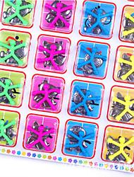 Недорогие -10 pcs Магнитные игрушки Мини-магнит Q-Man Резиновый человечек на магните Конструкторы Силикон Товары для офиса Магнитный Детские Мальчики Девочки Игрушки Подарок
