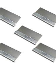 baratos -5 pcs lâmina de barbear para oca adesivo removendo a limpeza ferramenta de reparo lcd