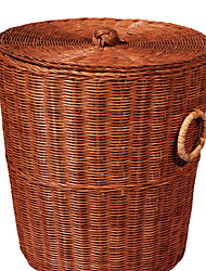 cheap -Wicker Round Cool Home Organization, 1pc Storage Baskets